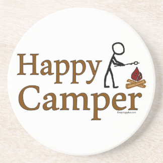 Happy Camper Coaster