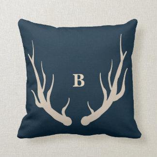 Happy Camper custom monogram throw pillow