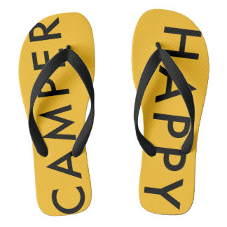 Happy Camper Flip Flops