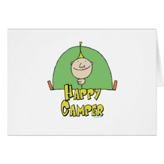 Happy Camper Guy Card
