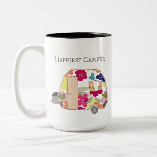 Happy Camper - Happiest Camper Two-Tone Coffee Mug