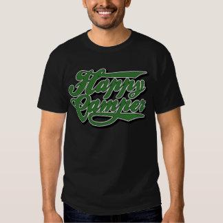 Happy Camper in Green T-Shirt