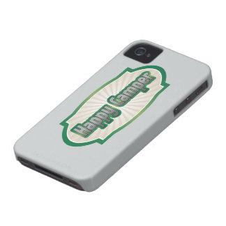 Happy Camper iPhone 4 Cases