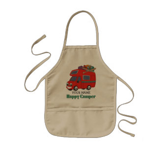 Happy Camper Kids Apron