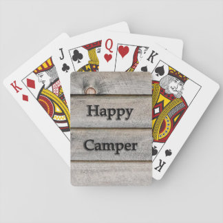 Happy Camper Playing Cards