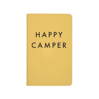 Happy Camper Pocket Notebook Journal