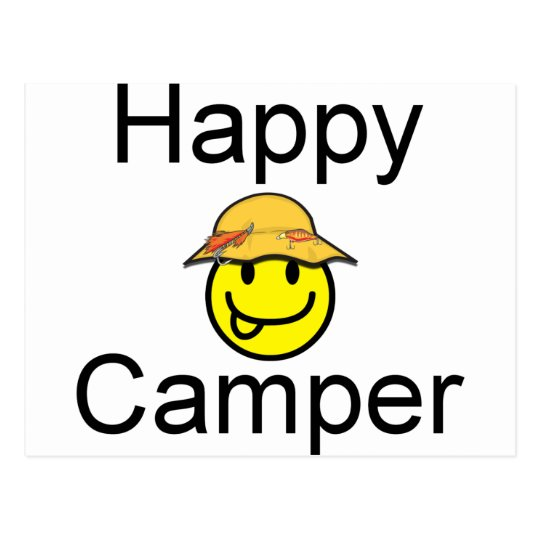 Happy Camper Postcard
