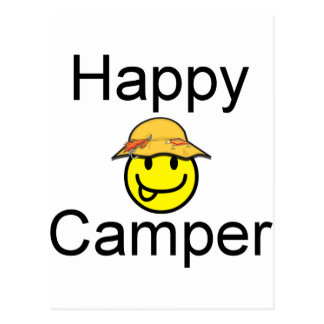 Happy Camper Post Card