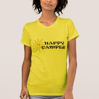 Happy Camper Sunshine Ladies Petite T-shirt