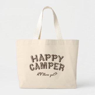 Happy Camper Canvas Bags