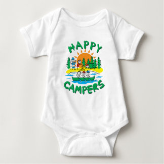 Happy Campers Baby Bodysuit