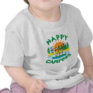 Happy Campers T-shirts