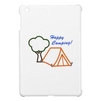 happy camping applique iPad mini covers