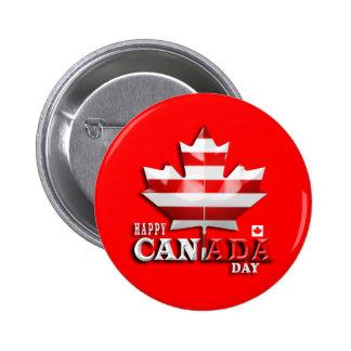 Happy Canada Day Button