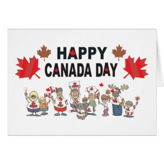 Happy Canada Day Greeting Card