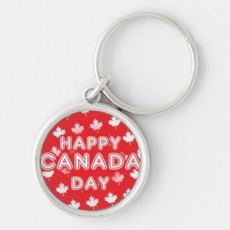 Happy Canada Day Keychain