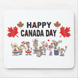 Happy Canada Day Mouse Mat