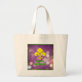 Happy Carnival with Bokeh Lights Tote Bag