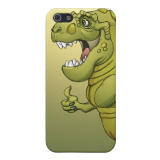 Happy Cartoon Dinosaur Giving the Thumbs Up! iPhone 5 Cover
