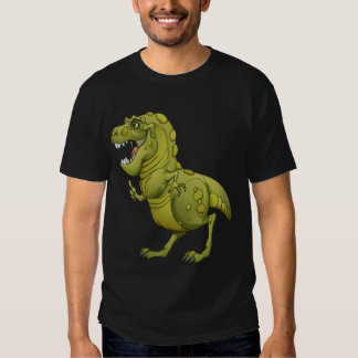 Happy Cartoon Dinosaur Giving the Thumbs Up! T Shirts