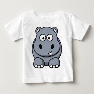 Happy Cartoon Hippo Shirt