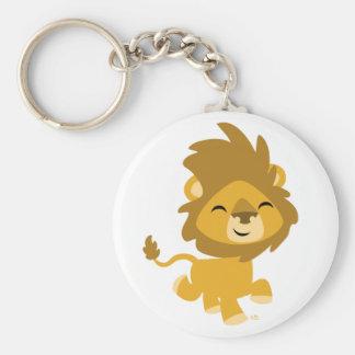 Happy Cartoon Lion keychain