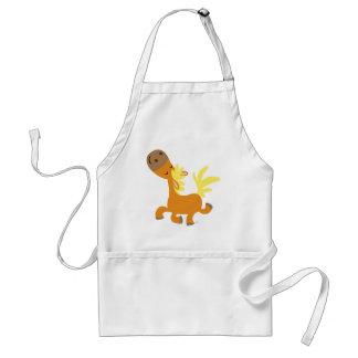 Happy Cartoon Pony Cooking Apron