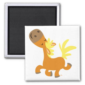 Happy Cartoon Pony magnet