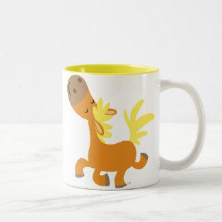 Happy Cartoon Pony Mug