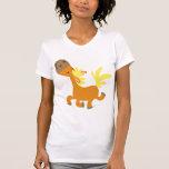 Happy Cartoon Pony Women T-shirt