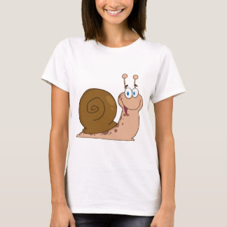 Happy Cartoon Snail T-Shirt