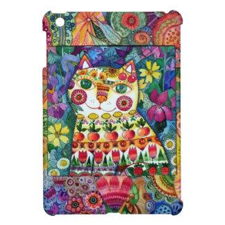 Happy cat iPad mini case