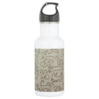 Happy Cats 532 Ml Water Bottle