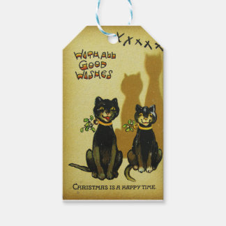 Happy Cats Christmas Tag