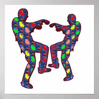 HAPPY CELEBRATIONS Print: ZOMBIE  Dance