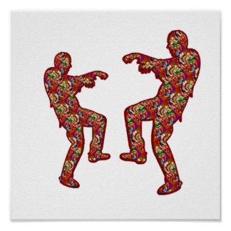 HAPPY CELEBRATIONS Print: ZOMBIE  Dance