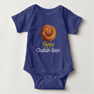Happy Challah-days Baby Bodysuit