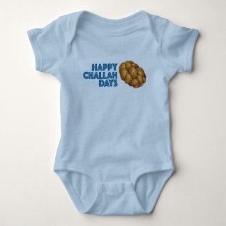 Happy Challah Days Chanukah Hanukkah Baby Suit Baby Bodysuit