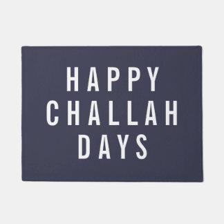 Happy Challah Days | Funny Holiday Chanukah Doormat