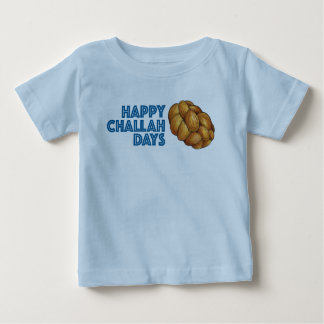 Happy Challah Days Hanukkah Chanukah Baby Tee