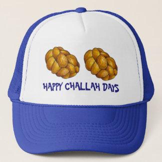 Happy Challah Days Hanukkah Chanukah Holiday Hat