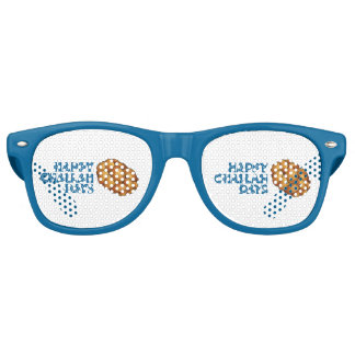Happy Challah Days Hanukkah Chanukah Jewish Bread Retro Sunglasses