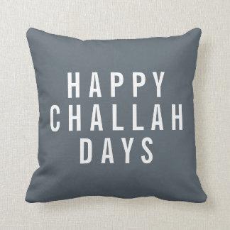 Happy Challah Days Holiday Decor Cushion