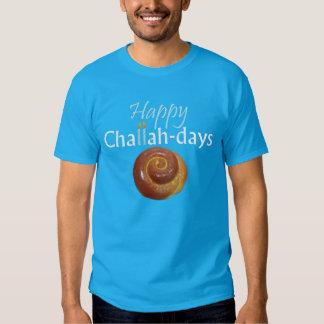 Happy Challah-days Tee Shirt