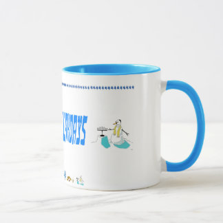 Happy Challahdays Mug