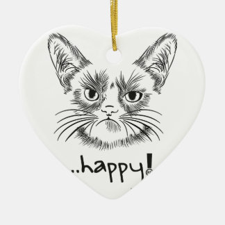 Happy, Champion of the world-wide one, shirts, the Ceramic Heart Decoration