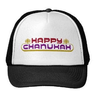 Happy Chanukah Cap