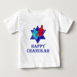 Happy Chanukah Star & Dreidel T Shirt