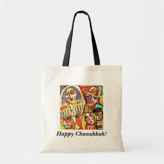 Happy Chanukkah Gift/Tote Bag - Jewish Festival