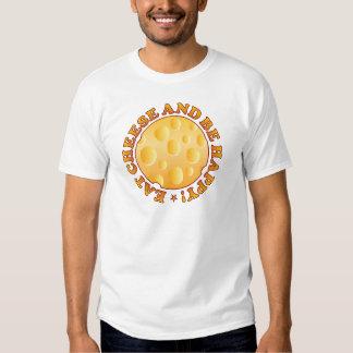 Happy Cheese Brown Tee Shirts